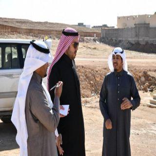 أمين الشمالية يتفقد عدد من أحياء #عرعر ويستمع لمطالب المواطنين