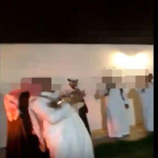 فيديو مُتداول مواطن كاد يقتل أحد المُهنئين ببندقية آلية