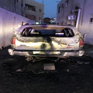 القبض على مخالف انظمة الإقامة مُتهم بإحراق 5 مركبات بحي مشرفة في #جدة