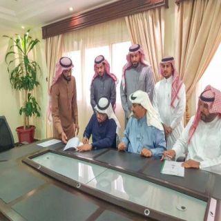 """""""المانع"""" يشهد توقيع اتفاقية تعاون بين غرفة البكيرية ومكتب العمل والتأهل الشامل"""