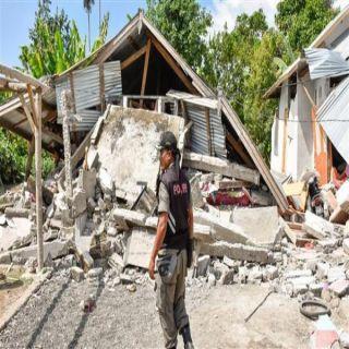 زلزال بقوة 7.5 يضرب جزيرتي لومبوك وبالي في إندونوسيا