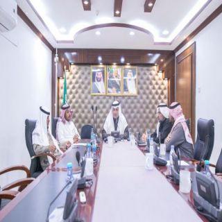 """مدير #تعليم_البكيرية يرأس اجتماع لجنة """"بيعة وولاء"""""""