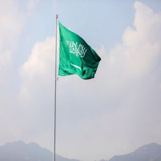 رئيس بلدية #رجال_المع يدشن أطول سارية علم في المحافظة