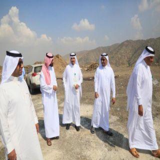 لجنة متابعة المشاريع تقوم بجولة على عدد من مشاريع #بحر_أبوسكينة