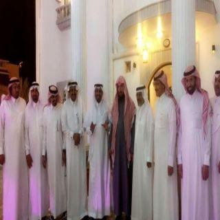 الشيخ أبو طالب يستضيف مستشار الديوان الملكي الشيخ الدكتور سعد الشثري