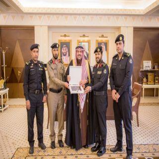 أمير #القصيم يستقبل مدير الدوريات الأمنية بالمنطقة