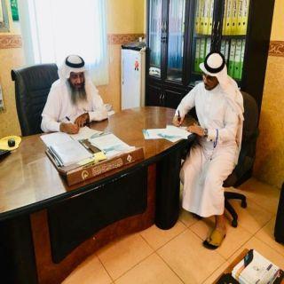 توقيع عقد شراكة يجمع ثلاجة الشروق المركزية وبر #بارق