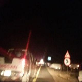 حادث سير يٌخلف 4 وفيات بطريق ثلوث المنظر وادي الخير في #بارق