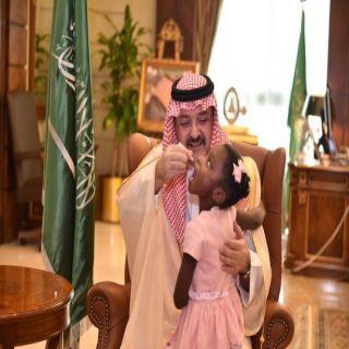 محافظ #جدة يدشن الحملة الوطنية ضد شلل الاطفال