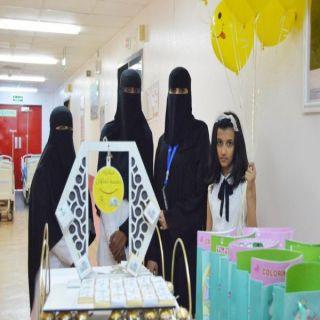 القسم النسوي بـ #بلدية_المجاردة يزور مستشفى #المجاردة العام
