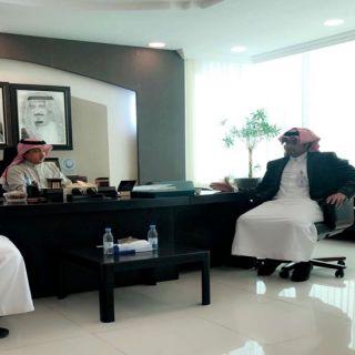 مدير عام المياه في #الباحة يتسلم تقرير عن اعمال فرع المياه بمحافظة بلجرشي