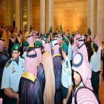 مقرن بن عبدالعزيز يتلقّى البيعة ولياً لولي العهد في قصر الحكم