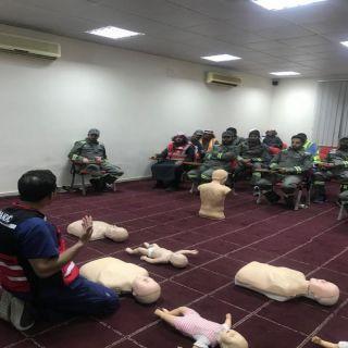 مدني #القصيم ينفذ برنامجا تدريبيا للإسغافات الأولية
