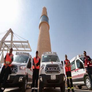 هلال #الرياض يتلقى أكثر من (500) ألف بلاغ وينقل أكثر من(65)ألف حالة في 2018