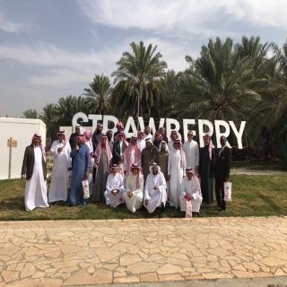 بالصور -وفد من مدينة الرياض يزور البكيرية ويطلع على معالمها التراثية والتنموية