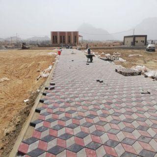 بالصور بلدية #بارق تكشف عن مشاريع خدمية في المُحافظة والمراكز التابعة لها