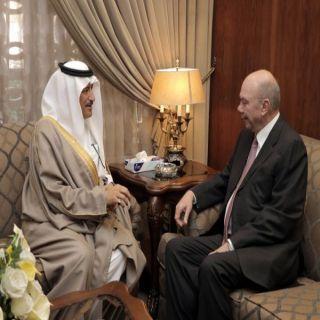 السفير السعودي في #عمان يلتقي رئيس مجلس الاعيان الأردني