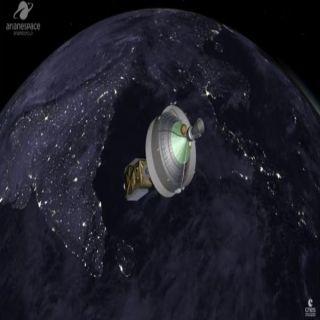 شاهد الصور الأولى لوصول القمر الصناعي السعودي محطته الأولى