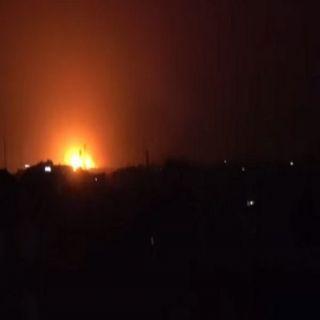 طيران التحالف يستهدف مواقع تخزين طائرات بدون طيار للميليشايت الحوثية في #صنعاء