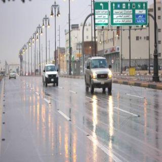 أمطار على القصيم والشرقية صباح اليوم