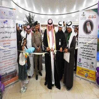وكيل #إمارة_عسير يدشن فعاليات الحملة الخليجية للتوعية بأمراض السرطان