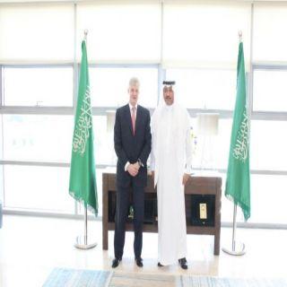 السفير السعودي في #عمان يلتقي السفير البريطاني