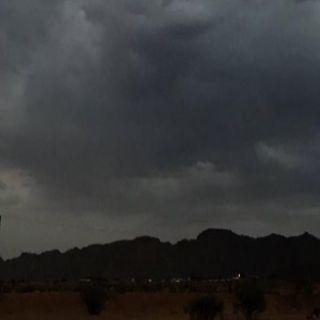 #الأرصاد توقعات بهطول أمطار رعدية على #نجران