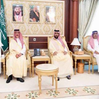 نائب أمير منطقة #جازان يستقبل الأمير عبدالعزيز بن سطام