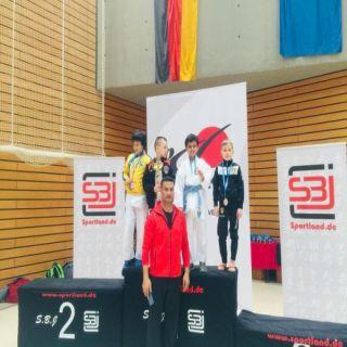 الحفظي يحقق الميدالية البرونزية في بطولة ألمانيا الدولية للقتال