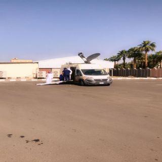 عربة الأحول المتنقلة تقديم خدماتها للرجال والنساء في مستشفى الصحة النفسية بجدة