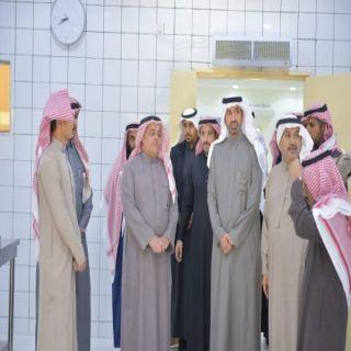 وزير العمل والتنمية الاجتماعية يقف ميدانياً على مركز التأهيل الشامل بالبكيرية