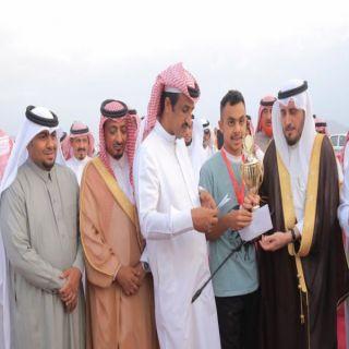 """كأس سباق الخيول الأول في #بارق بيد الفارس """"شار"""" إلى محايل"""