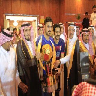 """أمين عسير ومُحافظ #بارق يتوجان """"غرناطة"""" بكأس أمير المنطقة"""