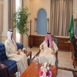 أمير #الجوف يُناقش مع وزير النقل احتياجات المنطقة من الخدمات التي تقدمها منظومة النقل