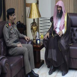 مُدير شرطة الرياض يلتقي رئيس فرع هيئة الأمر بالمعروف والنهي