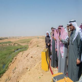 الأمير فيصل بن مشعل يتفقد موقع إنشاء مركز معلومات وادي الرمه بالمنطقة