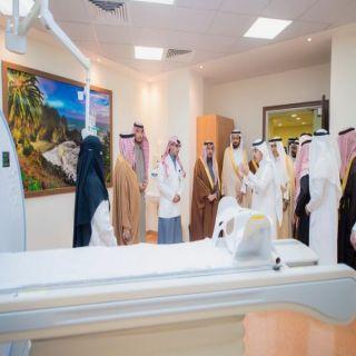 فيصل بن مشعل وبحضور الوزير الربيعة يدشن مشروع مستشفى عيون الجواء