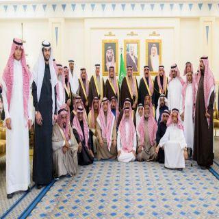 الأمير #فيصل بن مشعل يكرم 40 متقاعدًا من منسوبي الإمارة