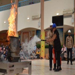 """الكهرباء """" تدرب أكثر من 22 ألف طالب وطالبة على السلامة ومكافحة الحرائق في 8 مدن"""