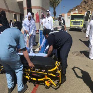 حالة إغماء وإخلاء خمس حالات في فرضية بمستشفى تنومة العام