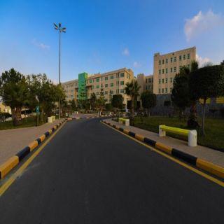 """#جامعة_الملك_خالد تستضيف حملة وزارة الصحة """"كلنا التمريض"""""""