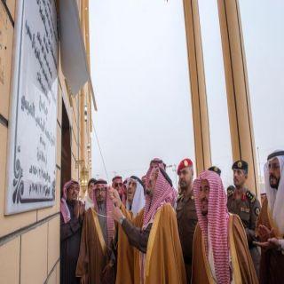 أمير القصيم يدشن عدداً من المشاريع التنموية بمحافظة ضريه
