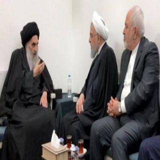 السيستاني يُبلغ روحاني بضرورة إحترام سيادة #العراق