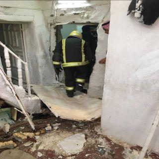 إصابة امرأة في تسرب غاز بمنزل شعبي في #سدوان بعسير