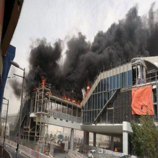 مدني #الرياض يُسيطر على حريق عوازل حرارية بإحدى محطات قطار #الرياض