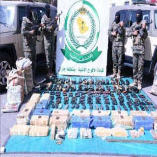 الداخلية ضبط 52 طن مخدرات و209 سلاح و825 متهماً