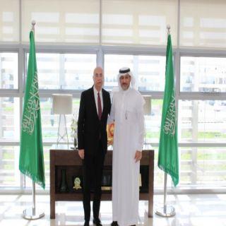 سفير المملكة لدى الأردن يستقبل سفير جورجيا في عمان