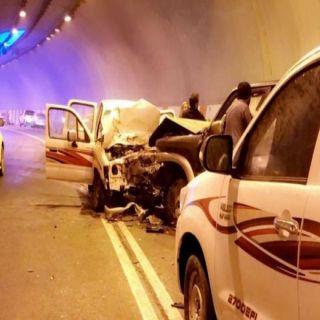 حادث عقبة الملك فهد في الباحة يُخلف ثلاث إصابات إحداها خطيرة
