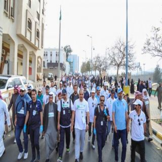 برعاية تركي بن طلال #صحة_عسير تطلق أكبر فعالية للمشي