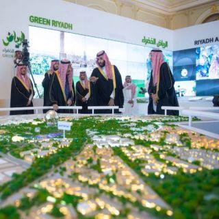 #الملك يُطلق 4 مشاريع نوعية كبرى بـ 86 مليار ريال في مدينة الرياض